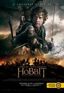 A_hobbit_Az_ot_sereg_csataja_magyar_poszter