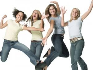 Teenage-Girls-Rocking-Out